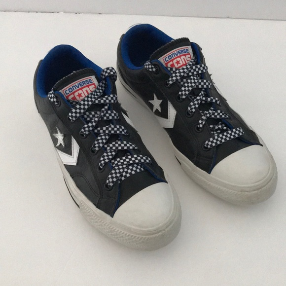 Converse Star Player Ox Leather Black